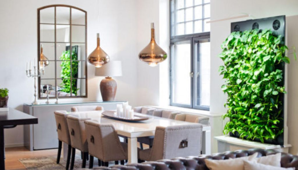 Naava Green Wall Brings Indoors the Power of 10000 Houseplants. Photo Credit Naava
